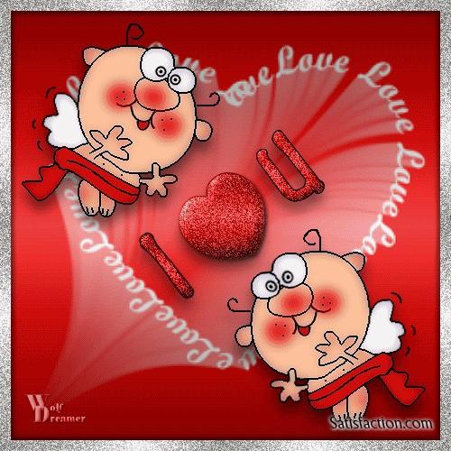 Прикольные поздравленья с днем святого валентина другу