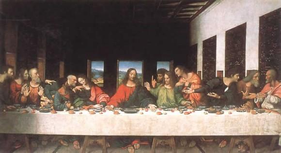 покажите известные картины-панорамы на не библейские темы?