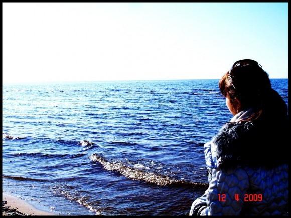 Покажи фото, где есть Небо, Море и Ты.