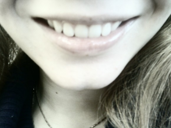 покажите улыбку на вашем лице?