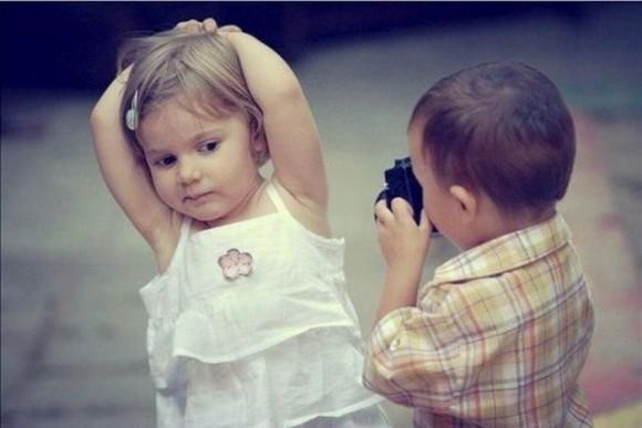 Покажите красивую пару.