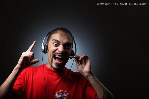 покажите неадекватного DJ ?