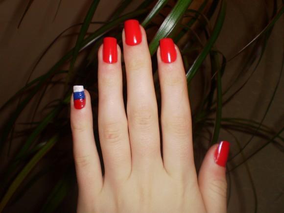 покажите красивый маникюр НЕ на нарощенных ногтях