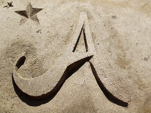 Покажите красивую букву А (прописную, или ещё какую)?